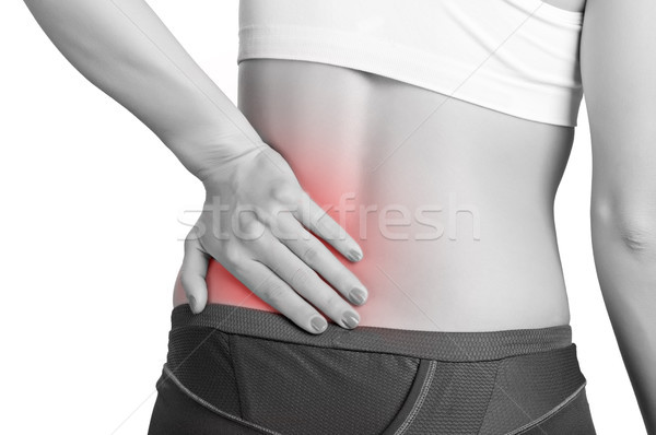 Back Pain Stock photo © ruigsantos