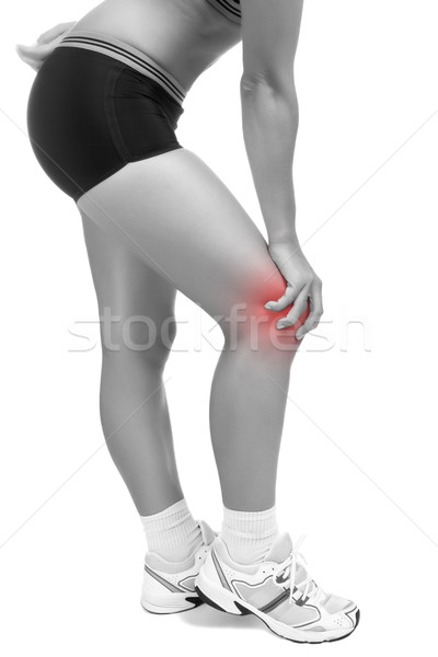 Knee Pain Stock photo © ruigsantos