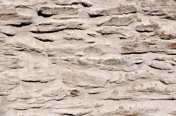 Taş duvar detay doku ev Bina Stok fotoğraf © ruigsantos