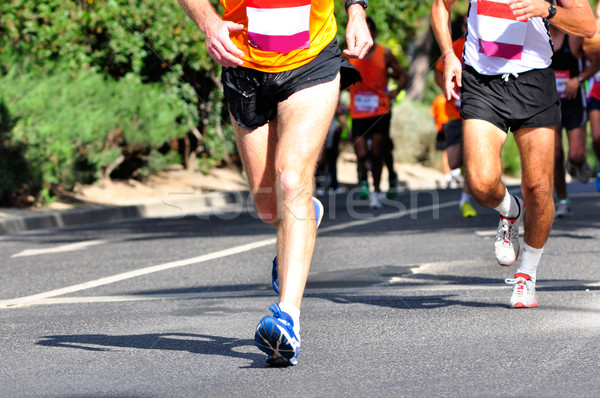 Marathon Racers Stock photo © ruigsantos