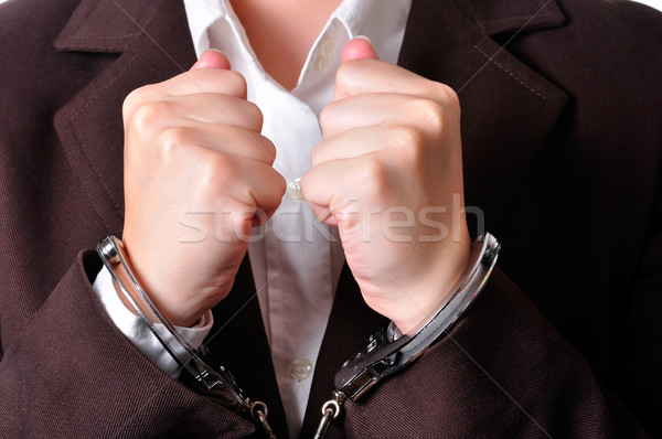 Handcuffed Stock photo © ruigsantos