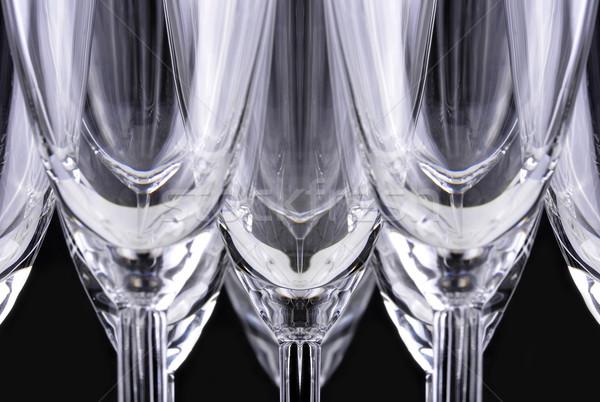 Champagne Glasses Stock photo © ruigsantos