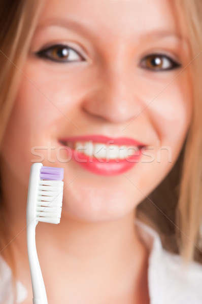 Teeth Brushing Stock photo © ruigsantos