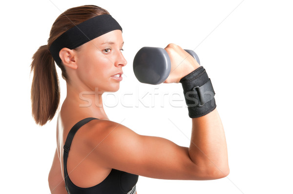 Stock photo: Woman Working Out