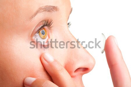 Stock photo: Contact Lens