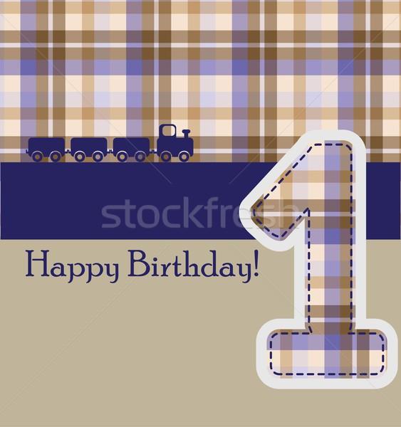 happy birthday card Stock photo © rumko