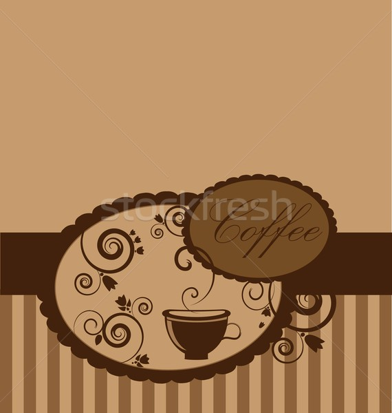 Kahve arka plan fincan doku çay Stok fotoğraf © rumko