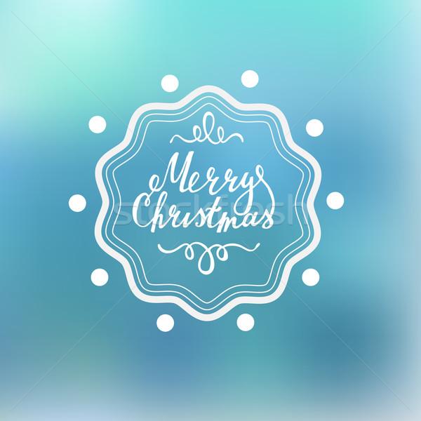 веселый Рождества дизайна Элементы аннотация веб Сток-фото © rumko