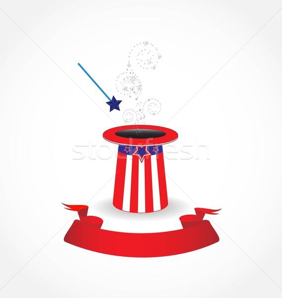 магия Hat американский свет Сток-фото © rumko