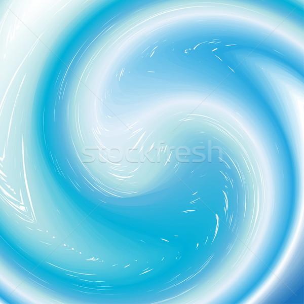 background with aqua twirl Stock photo © rumko