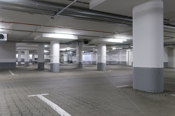 underground garage Stock photo © runzelkorn
