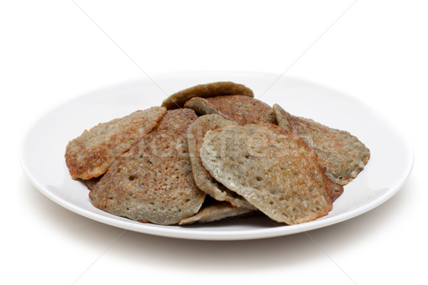 Pancakes on plate Stock photo © RuslanOmega