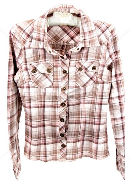 Male plaid shirt Stock photo © RuslanOmega