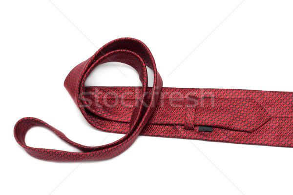 Crimson tie convolute Stock photo © RuslanOmega