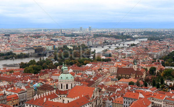 View of Prague from the top Stock photo © RuslanOmega