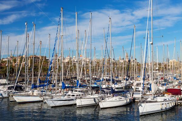 Yachts Stock photo © RuslanOmega