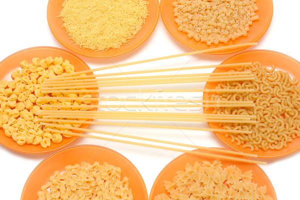 Drogen plaat voedsel hout achtergrond Stockfoto © RuslanOmega