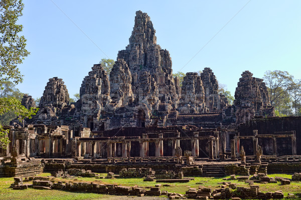 Angkor Wat Temple, Siem reap, Cambodia. Stock photo © RuslanOmega