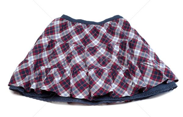 Spódnica czerwony niebieski biały Zdjęcia stock © RuslanOmega