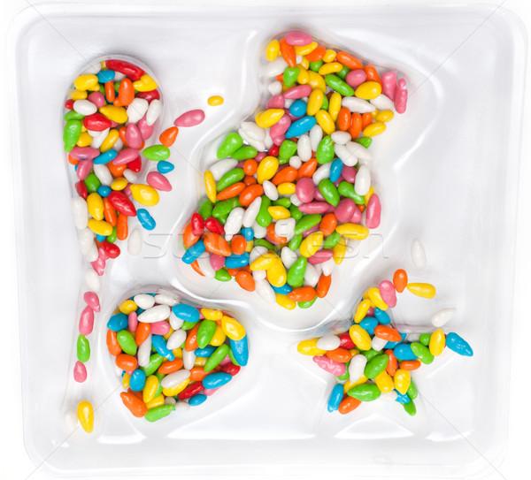 Colour sweetmeats Stock photo © RuslanOmega
