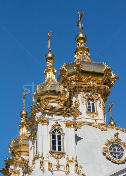 Сток-фото: купол · Церкви · Blue · Sky · небе · здании