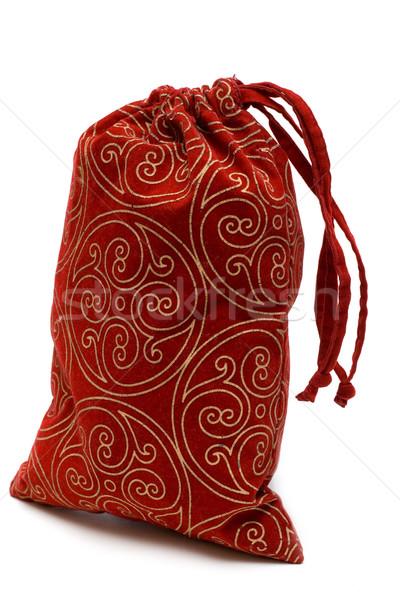 Red bag with gift Stock photo © RuslanOmega