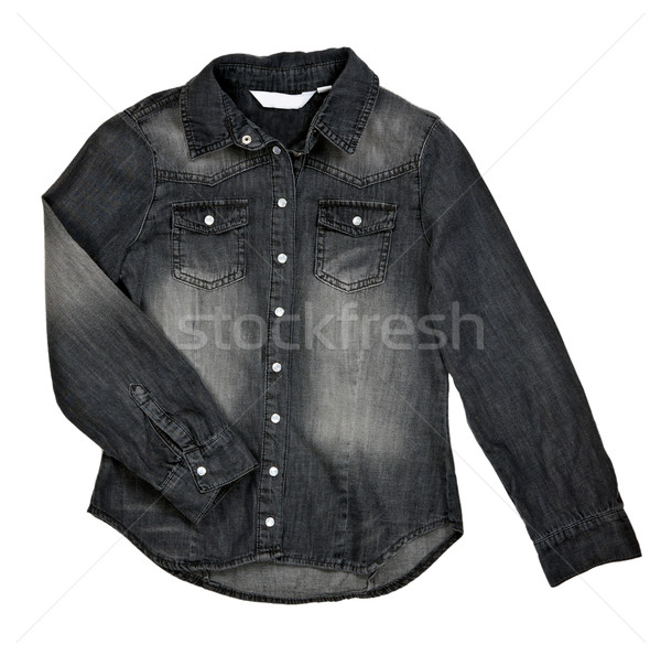 black jean shirt Stock photo © RuslanOmega