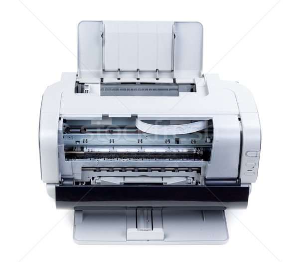 Open color inkjet printer Stock photo © RuslanOmega