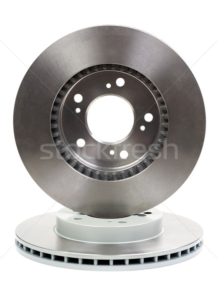 Two new brake discs for the car Stock photo © RuslanOmega