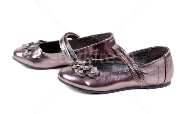Children's fancy shoes Stock photo © RuslanOmega