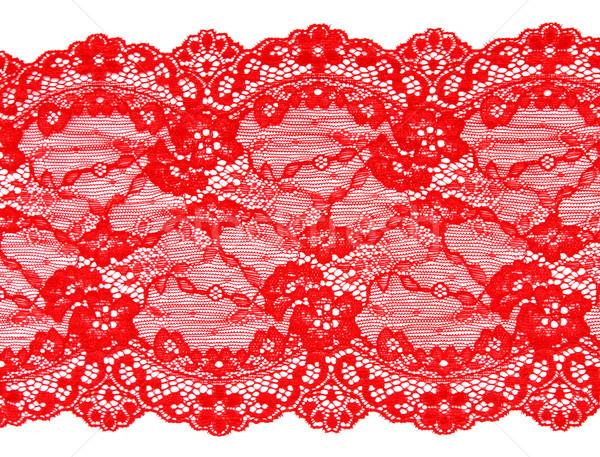 Red lace Stock photo © RuslanOmega
