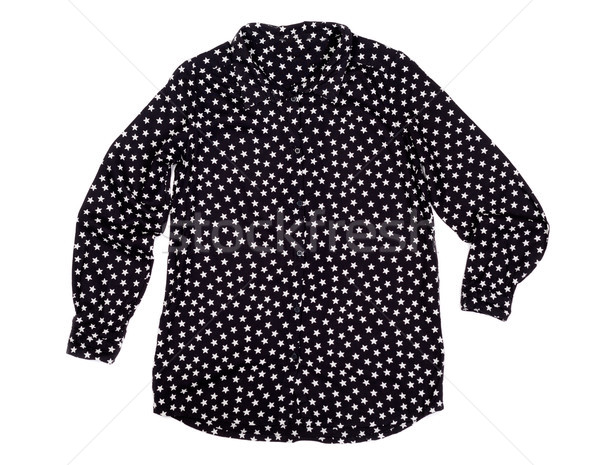 black shirt with white stars Stock photo © RuslanOmega