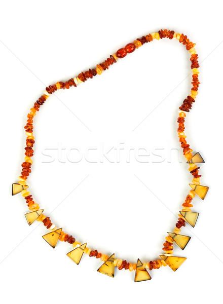 Beads of amber Stock photo © RuslanOmega