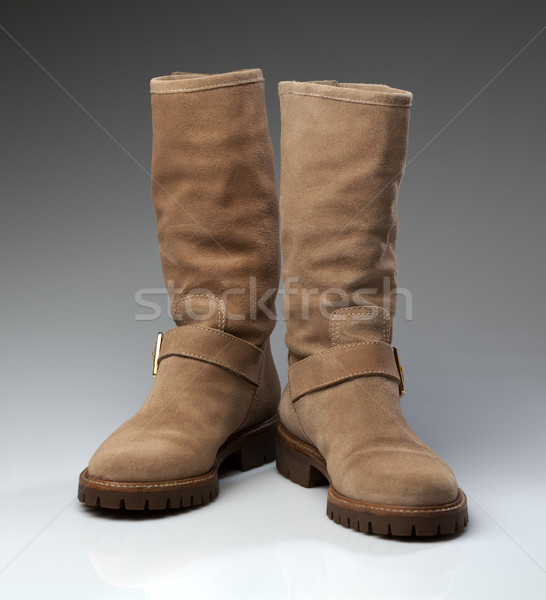 sheepskin boots Stock photo © RuslanOmega