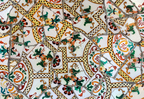 Detail of a mosaic on the wall Stock photo © RuslanOmega