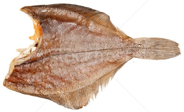 ízletes aszalt hal izolált fehér kövér Stock fotó © RuslanOmega