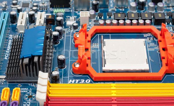 Microprocessador memória computador abstrato fundo indústria Foto stock © RuslanOmega