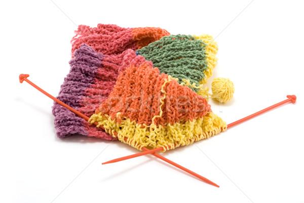 Knitted scarf Stock photo © RuslanOmega