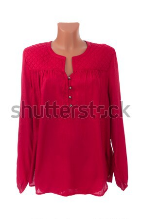red blouse on a mannequin Stock photo © RuslanOmega