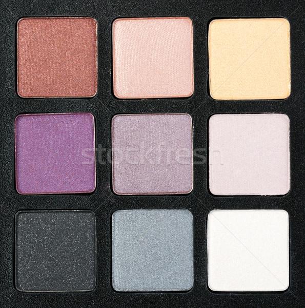 set of colored powder Stock photo © RuslanOmega