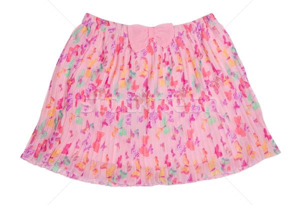 pleated chiffon skirt Stock photo © RuslanOmega