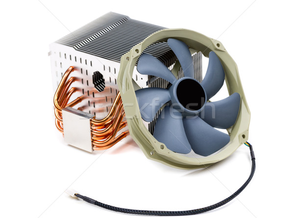 Computer Cooling Heat Sink Stock photo © RuslanOmega