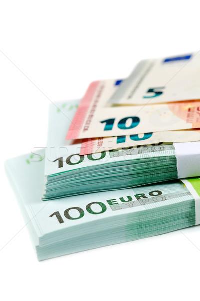 Banknotes 100, 10 and 5 euros Stock photo © RuslanOmega