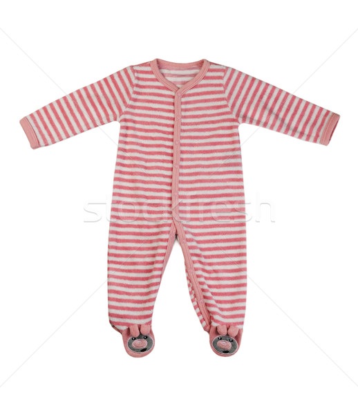 Children's striped overalls Stock photo © RuslanOmega