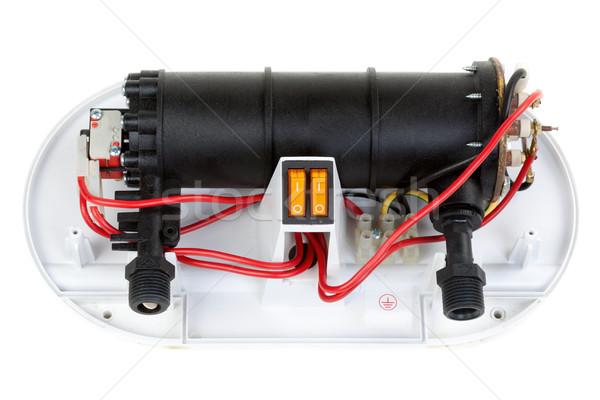 Elétrico água aquecedor reparar exame Foto stock © RuslanOmega