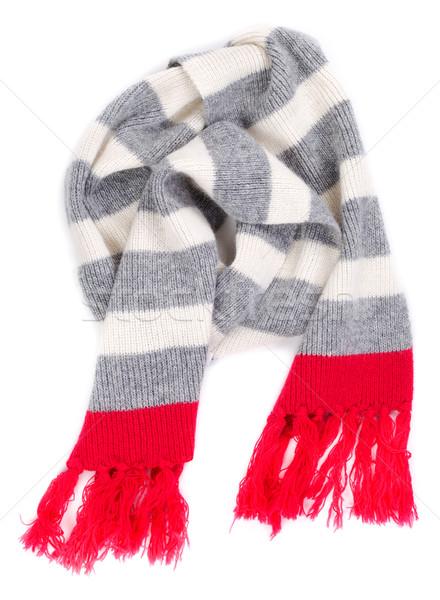 striped scarf Stock photo © RuslanOmega