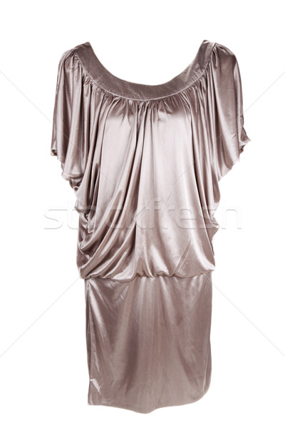 Golden fashionable feminine gown Stock photo © RuslanOmega