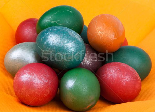 Easter dyed egg Stock photo © RuslanOmega