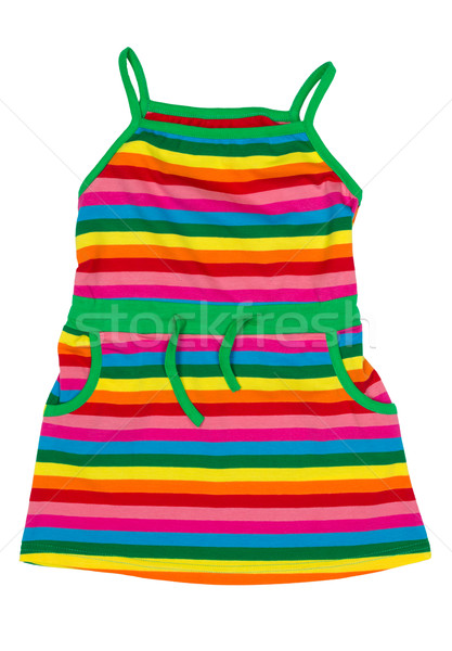 children's striped sundress Stock photo © RuslanOmega