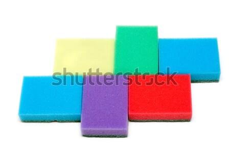 Colour sponges Stock photo © RuslanOmega
